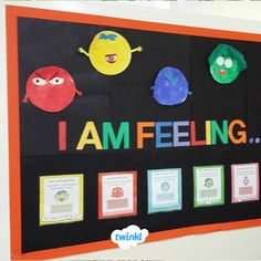 I Am Feeling. I Am Feeling. Discuss emotions feelings and mental health The post Mood Monsters Display Wall. I Am Feeling. appeared first on Gesundheit. Children's Mental Health Week, Mental Health Activities, Mental Health And Wellbeing, Preschool Displays, Classroom Displays, Eyfs Activities, Activities For Kids, School Board Decoration, World Book Day Ideas