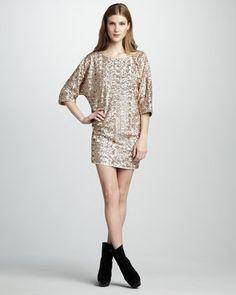 Rachel Zoe Tinsley Sequined Dress - Bergdorf Goodman