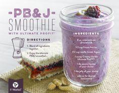 pb&j profit smoothie