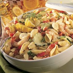 Dilly+Seafood+Pasta+Salad+-+The+Pampered+Chef®