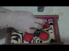 (57) Процесс заливки мыла с помощью труб - YouTube