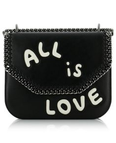 Enjoy the free delivery within 1 to 5 business days – Returns are free in-store Noir Color, Romantic Messages, Stella Mccartney Falabella, Free Delivery, Black Women, Shoulder Bag, Mens Fashion, Store, Business