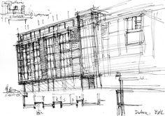 Koncepcja Szkic - Architektura Budynki