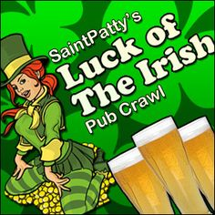 st pattys day pub crawl