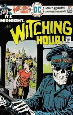 The Witching Hour Comic Book DC Comics 1975 VERY GOOD+ - You are in the right place about retro Comic Book Here we offer you the most beautifu Vintage Comic Books, Vintage Comics, Comic Books Art, Comic Art, Creepy Comics, Horror Comics, Horror Art, Book Cover Art, Comic Book Covers
