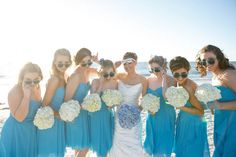 Malibu Blue Wedding Beachfront at the Hilton Clearwater Beach