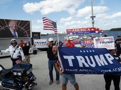 Trump supporters gather for smaller rallies around US #Politics #iNewsPhoto