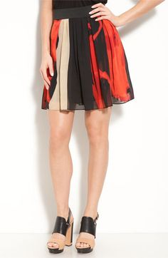Vince Camuto Placed Passion Skirt