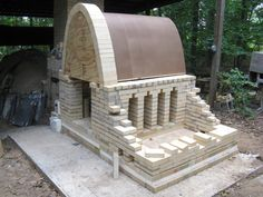 This summer I've spent a lot of my time at Clemson building a new kiln. It has been a great experience as I learn the skills I will need one day to build a kiln of my own. The design is a c… Arch Building, Wood Kiln, Pottery Kiln, Ceramic Techniques, Pinch Pots, Sgraffito, Outdoor Furniture Sets, Outdoor Decor, Diy Hacks