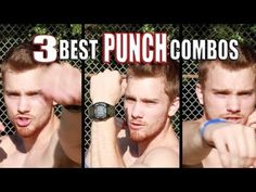 This guy has some fantastic punching bag workouts! Great for all skill levels! I'm sweating so hard!!