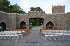Enjoy our unique setting as you begin your new life with prince charming.  Castle Pines - Home of Chestershire Castle Outdoor Event Venue Luray, Tn 38352 castlepinesfarm.com #castlepinestn #tncastle #castlebride #tnweddingvenue #castlewedding