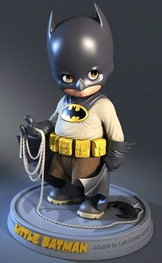 Little Batman Sculpt