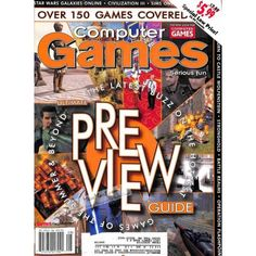Cover Print of Computer Games Magazine, August 2001 | $6.60