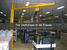 A Brief Look At The Usefulness of #JibCranes http://bit.ly/28VfqnB
