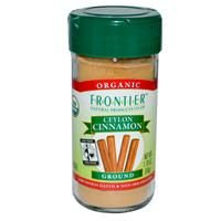 iHerb.com - Customer Reviews -Frontier Natural Products, Organic Ceylon Cinnamon, Ground, 1.76 oz (50 g)