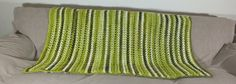 BL065  Shades of Green Blanket by KiwiCordell on Etsy,