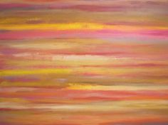 Large Acrylic Abstract Painting on Canvas by Len by LenDickson
