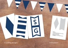 Geelong cats - AFL grand final party - Geelong cats bunting - AFL decorations - Grand final decorations AFL - AFL Bunting - Navy Bunting - Printable Bunting Design - AFL Decorations Oktoberfest Decorations, Bunting Design, Cat Decor, Cat Party, Printer Paper, Printable Designs, Triangle Shape, Party Signs, Custom Invitations