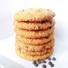 Chewy Chocolate Chip Cookies (Paleo)