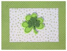 Let's Celebrate You - St. Patrick's Day Note Card from StationTEEN by Jennifer! Designs #StPatricksDay #GreetingCards #Stationery