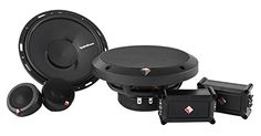 Rockford Fosgate Punch P165-SE 240W 6.5' Punch Series Euro Fit Compatible 2-Way Component System w/ External Crossover Network * Click on the image for additional details.