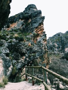 A little ways outside of the city of Granada is a hike through the canyons (los cahorros) of the Sierra Nevadas. I ...