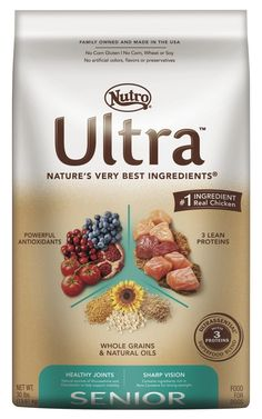 NUTRO ULTRA Senior Dry Dog Food *** See this awesome image  : Dog food types