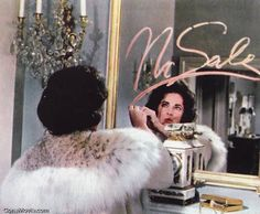 BUtterfield 8 classic scene: Liz uses her Revlon to send a message to Liggett
