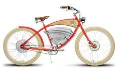 Absolut geniales elektrisches Vintage Fahrrad. Dieses Bike ist mir der neusten Technologie ausgestattet und kommt im coolen Retro-Look..... darumbinichblank.de