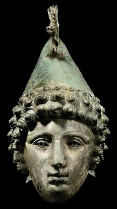 Lock, Stock, and History — Roman bronze parade cavalry helmet, Roman Helmet, Ancient Armor, Rome Antique, Art Roman, Empire Romain, Roman Sculpture, Roman History, Bronze, Ancient Artifacts