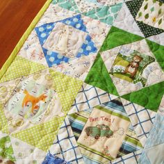 I-spy economy block quilt simple tutorial with paper piecing tips