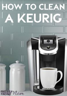 """If you rely on that cup of coffee to get your morning going, be sure you keep your Keurig operating at its optimal best by knowing how to clean a Keurig. Here you'll find out how easy it is to clean and how to descale a Keurig. If the word """"descale"""" is freaking you out, don't let it. It isn't as bad (or gross) as it sounds. Bonus: I bet you have all the ingredients you need to clean and descale your Keurig in your kitchen right now."""