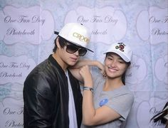 lizquen. Lisa Soberano, Enrique Gil, Photo Booth, Captain Hat, Selfie, Photo And Video, My Love, Ship, Beauty