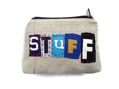 Ransom Notes Zipper Pouch- stuff-