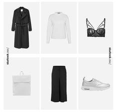 Just another minimal Black & White Look. Hier entdecken und shoppen: https://sturbock.me/q1V