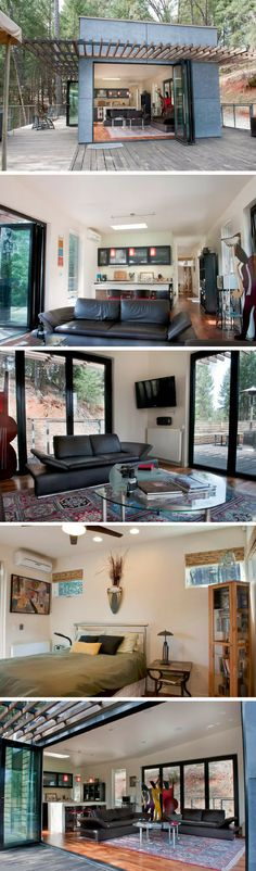 An award winning modern cabin in Grass Valley, California