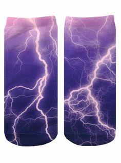 Lightning Ankle Socks