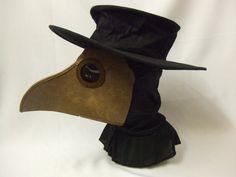 Plague Doctor Mask and Hat Set ~ Empirics ~ Steam Punk ~ Cosplay | eBay