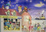 Vertelplaat Sinterklaas
