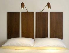 Картинки по запросу как оформить изголовье кровати без спинки