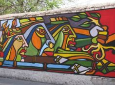 mural chile Siena, Medium Art, Street Art, Behance, World, Mural Ideas, Painting, Travel, Inspiration