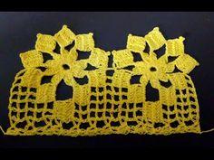 Crochet Lace Edging, Crochet Doily Patterns, Crochet Borders, Thread Crochet, Filet Crochet, Crochet Doilies, Crochet Stitches, Crochet Hats, Crochet Sunflower