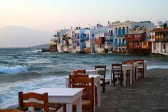 Myconos island Greece