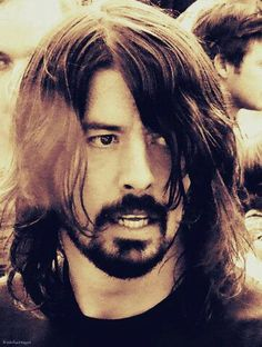 Dave Grohl. Everyone knows that he's an unbelievably talented musician. But more importantly, he seems to be a down to earth, hilarious, sweet guy. That's what I like most about him!