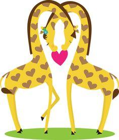 giraffe valentines day box
