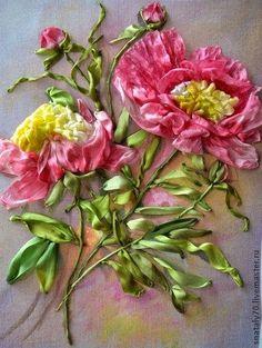 MATIN LUMINEUX: En attendant celles du jardin: Fleurs au ruban
