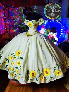 Mexican Theme Dresses, Mexican Fancy Dress, Quince Dresses Mexican, Traditional Mexican Dress, Mexican Quinceanera Dresses, Quinceanera Planning, Sweet 16 Dresses, 15 Dresses, Charro Dresses