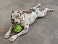 Papier-Mache Dogs by Lorraine Corrigan - Google Search