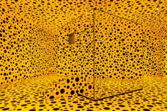 """Mirror Room (Pumpkin),"" 1991, by Yayoi Kusama. She tops the list for living women in terms of the aggregate value of her work sold at auction: nearly $216 million at the end of 2015."
