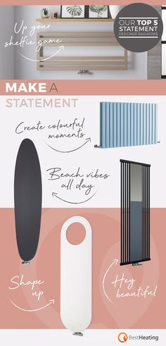 Turn an everyday feature into a stylish statement with our designer radiator collection. Shop now. Designer Radiator, Shelfie, Radiators, Contemporary Design, The Help, Centre, Advice, Stylish, Shop